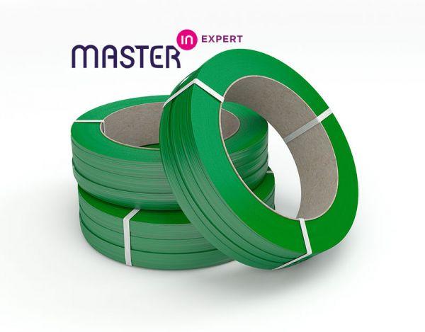 Master'in Expert Umreifungsband grün, 12,5 x 0,7 mm, 2.000 m