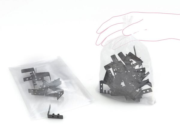 LDPE-Beutel transparent, 300 x 500 mm, 500 St./Kt.