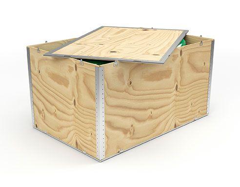 Holzboxen Deckel