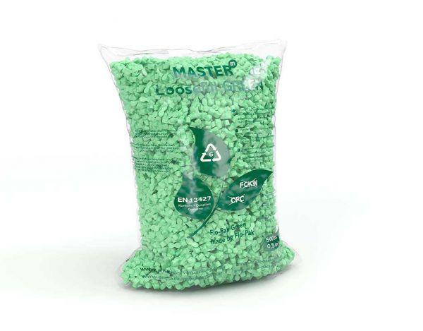 Master'in Access Verpackungschips Loose Fill Sack grün 500 Liter